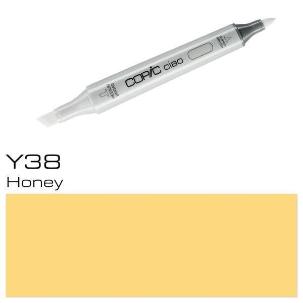 Copic Ciao Y38 honey