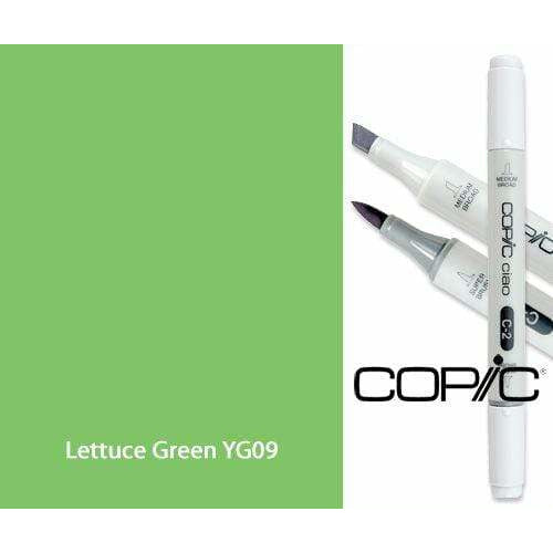 Copic Ciao YG09 lettuce green