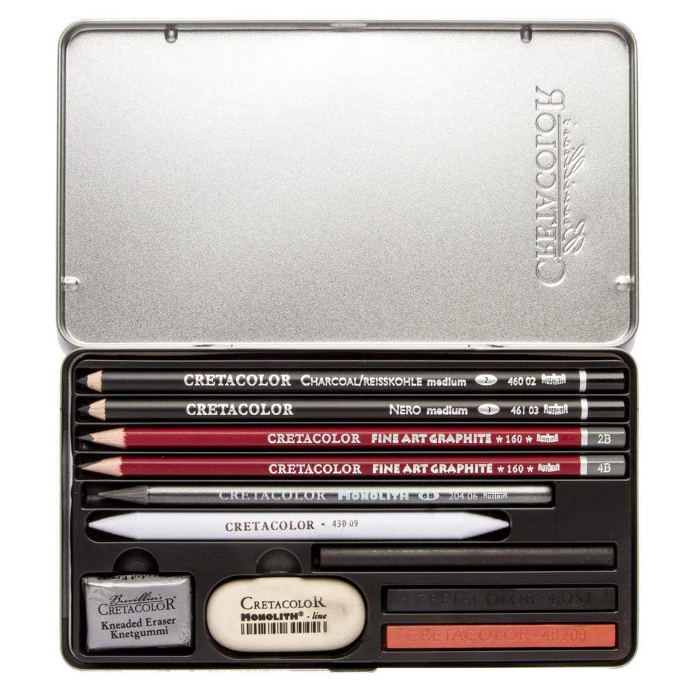 Cretacolor estuche metalico ref 40032 teachers choice 11ud CRETACOLOR CENTROARTESANO