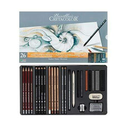 Cretacolor estuche metalico ref 40042 teachers choice advanced 26ud