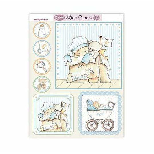 Dayka papel arroz 29X22 RICE-120 infantil