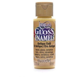 Americana gloss enamels 59ML DAG009 antique gold