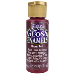 Americana gloss enamels 59ML DAG165 napa red