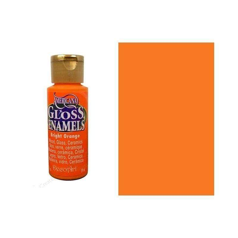 Americana gloss enamels 59ML DAG228 bright orange DECO ART CENTROARTESANO
