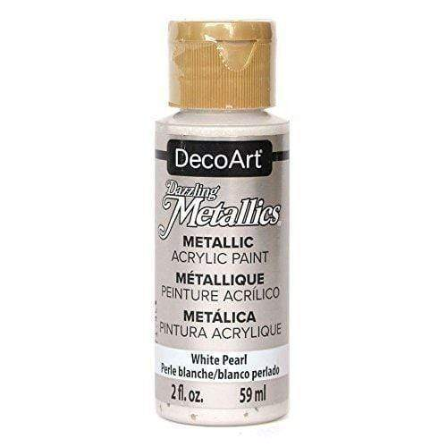 Americana metalica 59ml DA117 white pearl DECO ART CENTROARTESANO