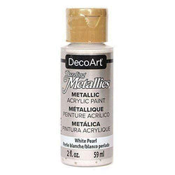 Americana metalica 59ml DA117 white pearl