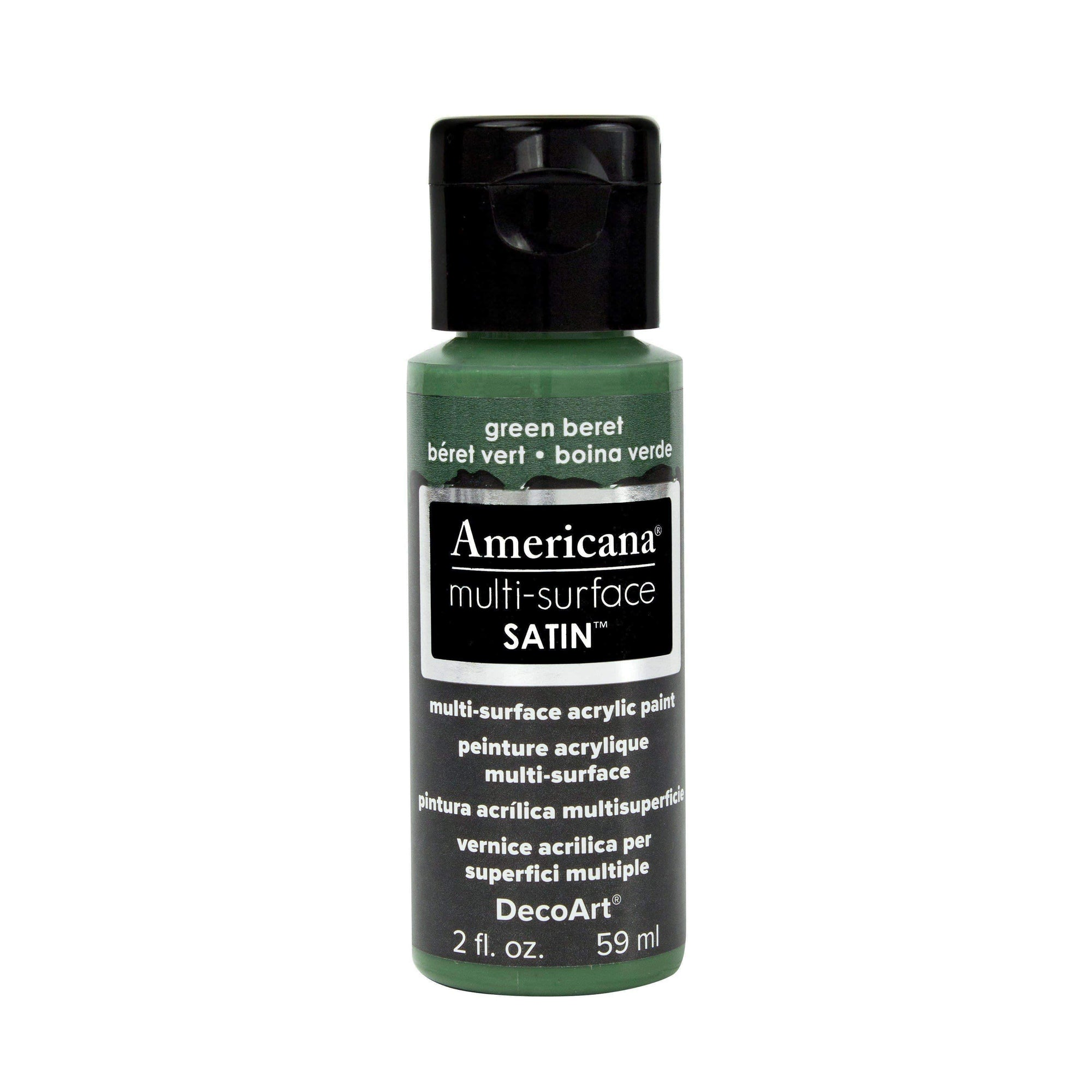 americana multi-surface 59ml DA521 boina verde DECO ART CENTROARTESANO