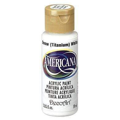 Americana pintura acril. 59ml DA001 titanium snow white DECO ART CENTROARTESANO
