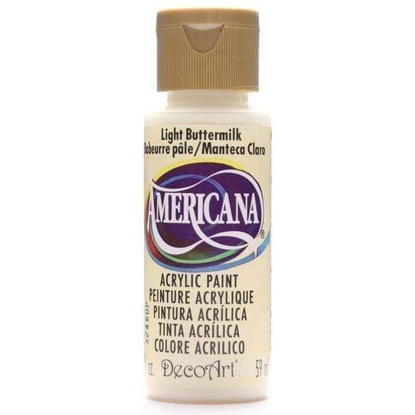 Americana pintura acril. 59ml DA164 light buttermilk DECO ART CENTROARTESANO