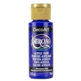 Americana pintura acril. 59ml DA225 ultramar DECO ART CENTROARTESANO
