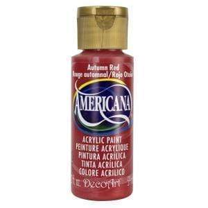 Americana pintura acril. 59ml DA280 autumn red DECO ART CENTROARTESANO