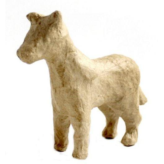 AP179C Decopatch paper mache caballo 11cm DECOPATCH CENTROARTESANO