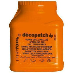 Decopatch pegamento barniz 150ml PP150PAILO purpurina