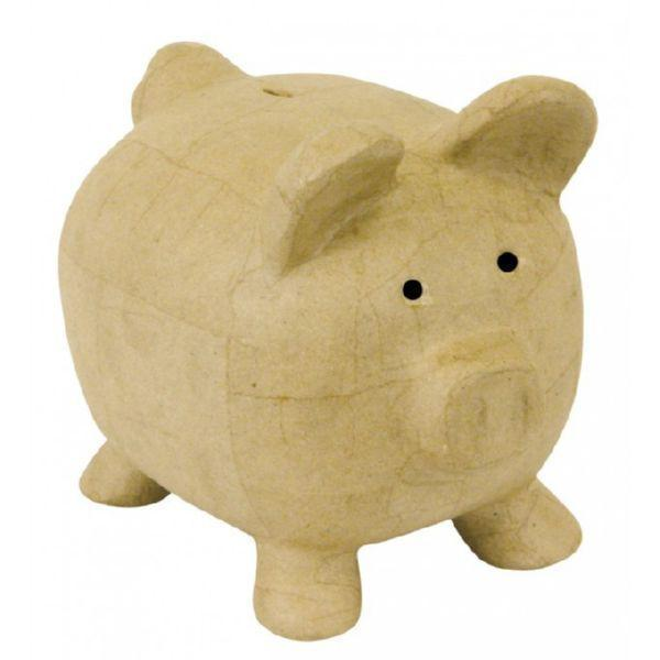 MA018O Decopatch paper mache hucha cerdito DECOPATCH CENTROARTESANO