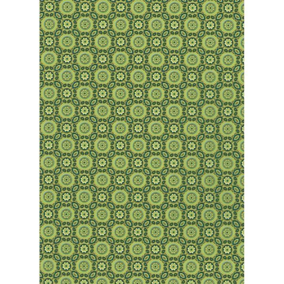 Papel Decopatch FDA643O Geometrico verde DECOPATCH CENTROARTESANO