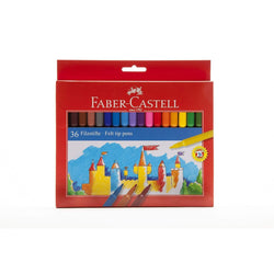 Rotuladores Faber castell 36 colores