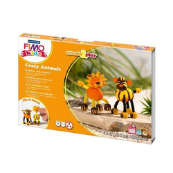 Kit fimo kids leon y tigre 7803307