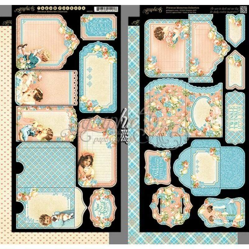 G45 4501094 precious memories tags & pokets GRAPHIC 45 CENTROARTESANO