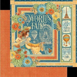 G45 4501167 paper 30x30 world's fair world's fair