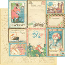 G45 paper 30x30 come away with me vintage voyage 4500919