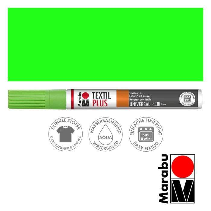 Marabu textil painter plus 3mm 062 verde claro MARABU CENTROARTESANO