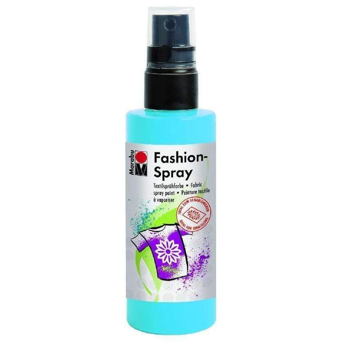 Pintura tela marabu fashion spray 100ml 141 azul sky