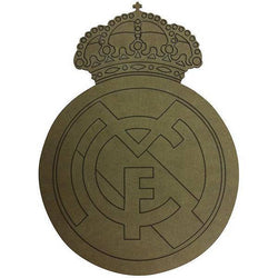 Escudo dm 12x9cm real madrid