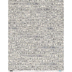 Papersforyou papel arroz PFY1976 Egyptian writings 54x69cm PAPERS FOR YOU CENTROARTESANO