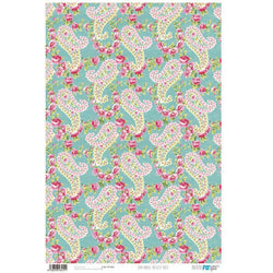 papel cartonaje basic paisley rose pfy455