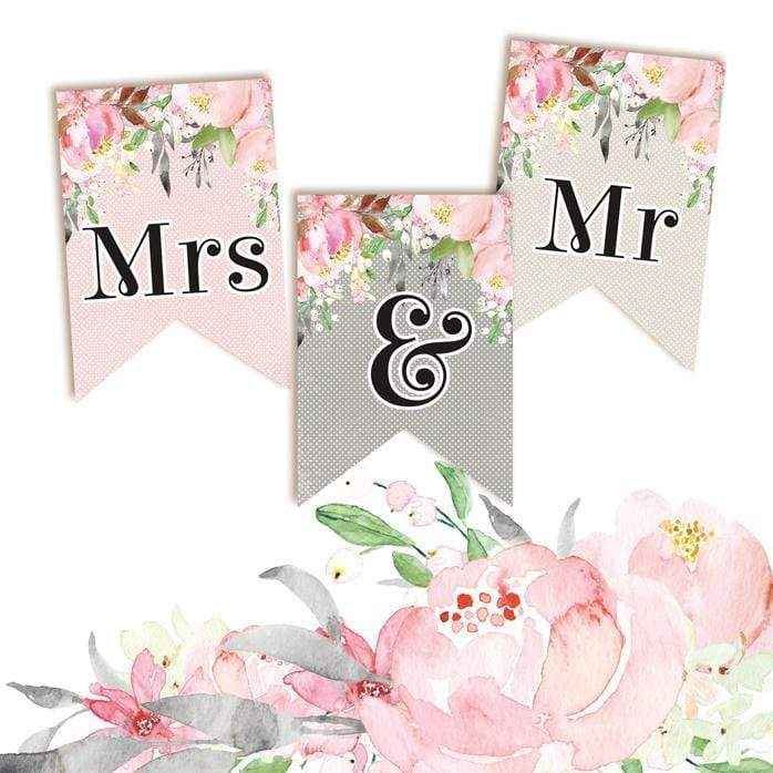 Garland piatek P13-264 love in bloom 3pcs Mrs&Mr