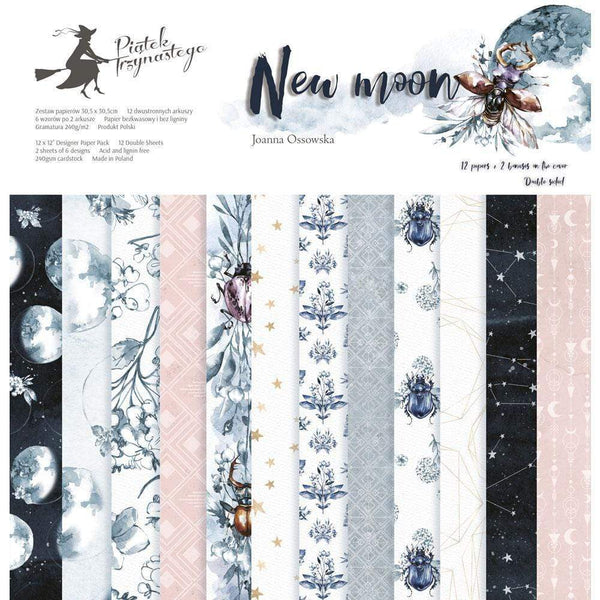 Pack paper piatek 15x15 24hp 13-359 new moon