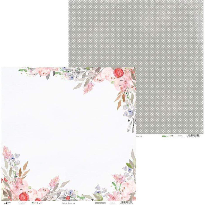 Pack paper piatek 30x30 12H P13-252 love in bloom
