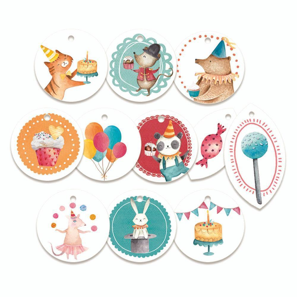 set tag piatek P13-423 happy birthday