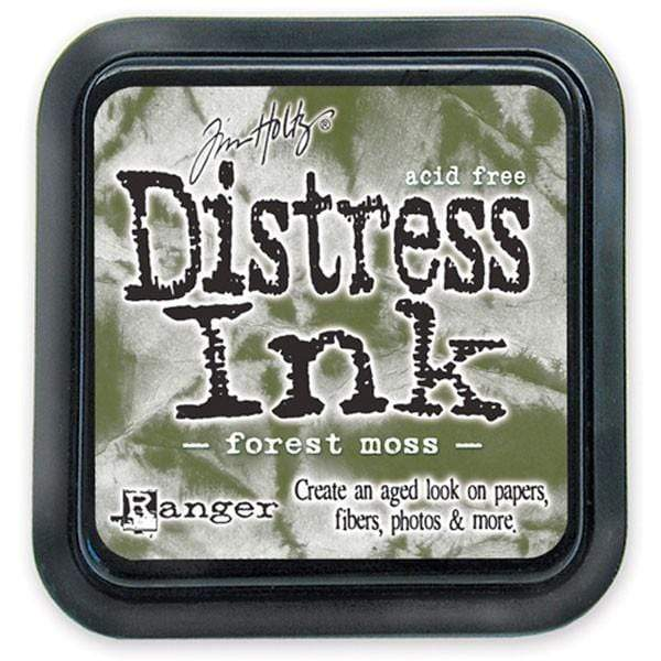 Tinta Distress Ink Forest moss 27133 RANGER CENTROARTESANO