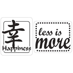 Rayher sello para jabon happiness,less is more 34276000