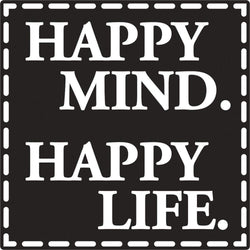 Rayher sello para jabon happy mind ,happy life 34271000