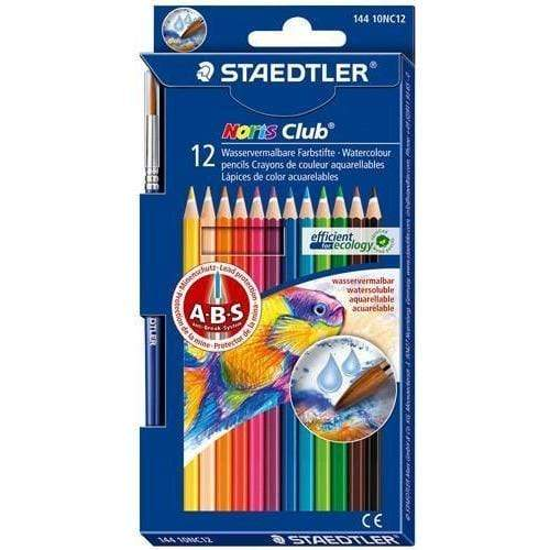 Staedtler Lapices acuarelables 12 colores STAEDLER CENTROARTESANO