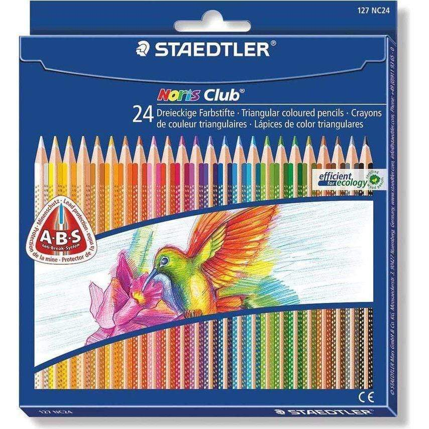 Staedtler Lapices triangulares 24 colores STAEDLER CENTROARTESANO