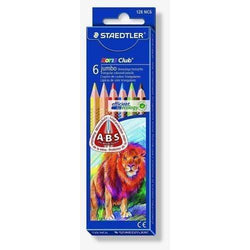 Staedtler Lapices triangulares jumbo 6 colores