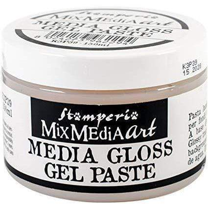 Stamperia mixmediaart media gloss gel paste 150ml STAMPERIA CENTROARTESANO