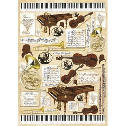 Stamperia papel decoupage 50x70 dfg288