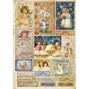 Stamperia papel decoupage dfg390