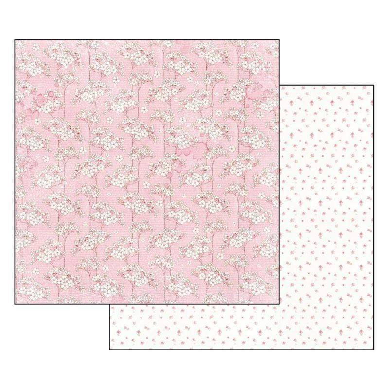 Stamperia papel scrap SBB551 baby girl flowers tapestry STAMPERIA CENTROARTESANO