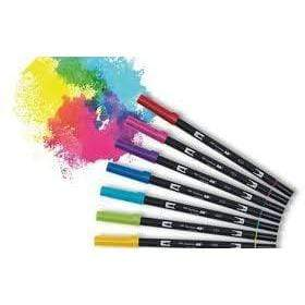 Tombow rotulador dual brush estuche 6 primary colours ABT6P1 TOMBOW Oferta CENTROARTESANO