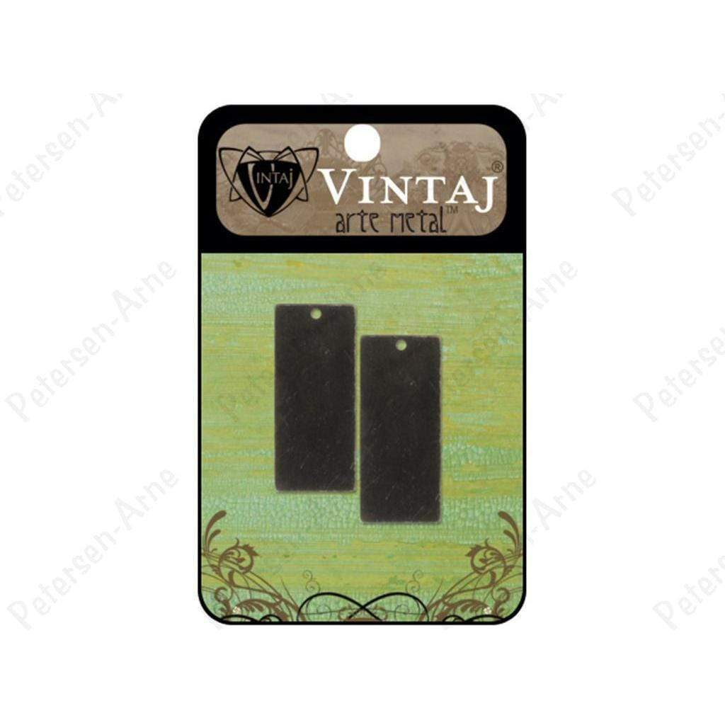 Vintaj Placas  rectangle 32mm arte metal VINTAJ CENTROARTESANO