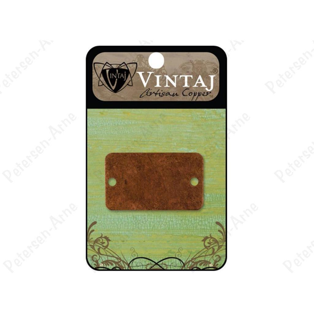 Vintaj placas Rectangle bracelet artisian copper VINTAJ CENTROARTESANO