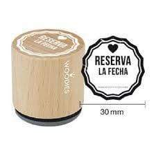 Sello woodies boda WB3007 RESERVA LA FECHA