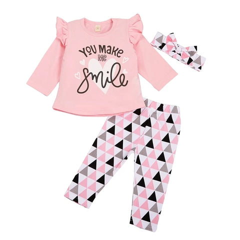 Baby Girls Smile Set