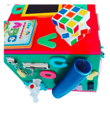 Activity Toy Box Large