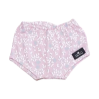 Baby Girls Pink Floral Nappy Cover
